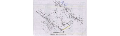 1000 P47 Brake and Operation Mechanism