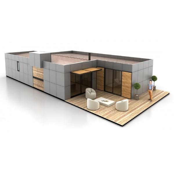 Mod tipo a s3 by eurocasa - Casas prefabricadas eurocasa ...