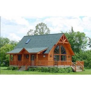 Casa de madera cristal 170 m2 dos plantas - Casas de madera de dos plantas ...