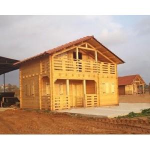 Casa de madera villahermosa 70 m2 dos plantas - Casas de madera de dos plantas ...